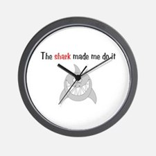 The shark made me do it Wall Clock