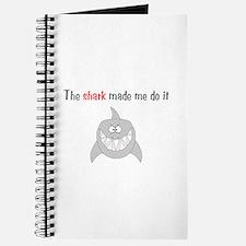 The shark made me do it Journal