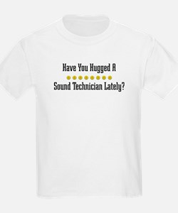 Hugged Sound Technician T-Shirt