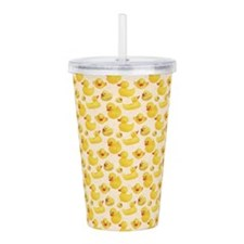 Rubber Duck Acrylic Double-wall Tumbler