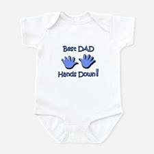 """""""Best Dad"""" Infant Bodysuit"""