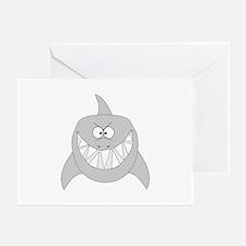 Cartoon Shark Greeting Cards (Pk of 10)