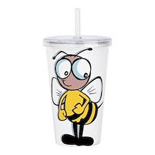 Bumble Bee Acrylic Double-wall Tumbler