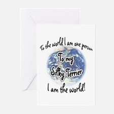 Silky World2 Greeting Cards (Pk of 10)