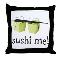 Sushi Me Throw Pillow