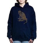 Monkey Women's Hooded Sweatshirt
