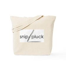 Snip Pluck Tweeze Tote Bag