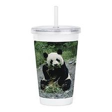 Panda Acrylic Double-wall Tumbler