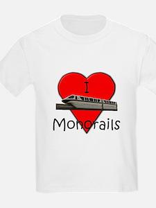 """I Love Monorails"" T-Shirt"