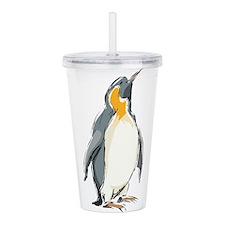 Penguin Illustration Acrylic Double-wall Tumbler