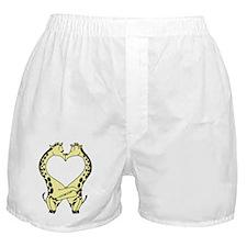 Kissing Giraffes Boxer Shorts