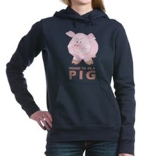Proud To Be A Pig Women's Hooded Sweatshirt