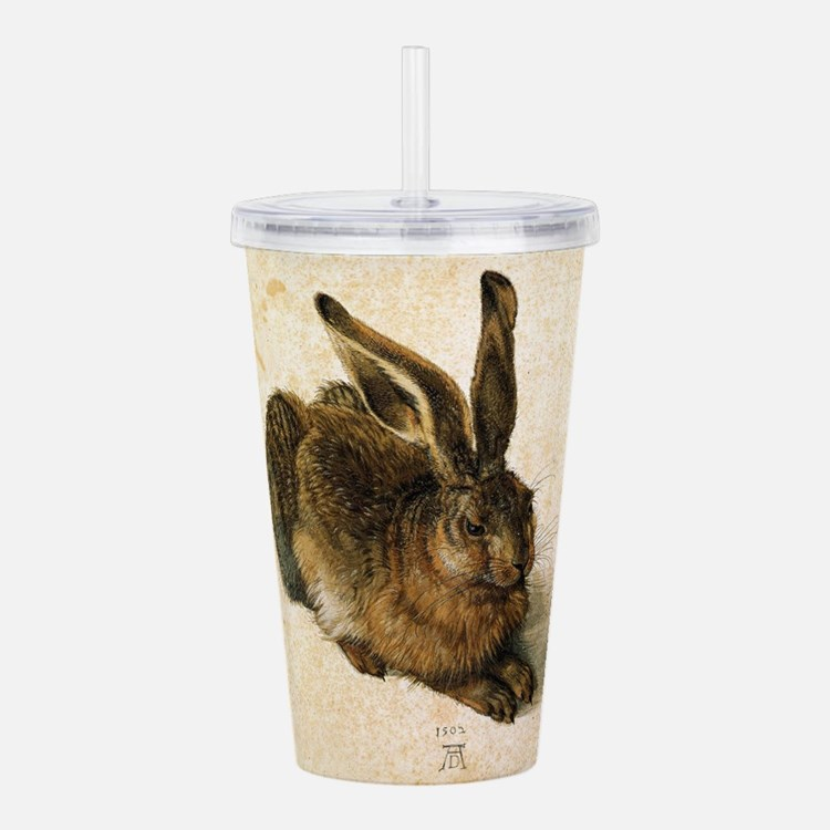 Albrecht Durer Young Hare Acrylic Double-wall Tumb