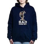 Bad Hare Day Women's Hooded Sweatshirt