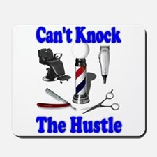 Cant Knock The Hustle-Blue Mousepad