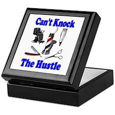 Cant Knock The Hustle-Blue Keepsake Box