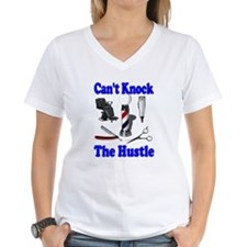 Cant Knock The Hustle-Blue Shirt