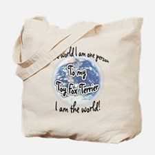 Toy Fox World2 Tote Bag