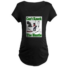 Cant Knock The Hustle-Green T-Shirt