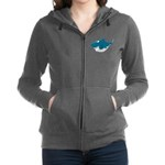 Cute Shark Women's Zip Hoodie