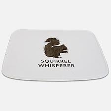 Vintage Squirrel Whisperer Bathmat