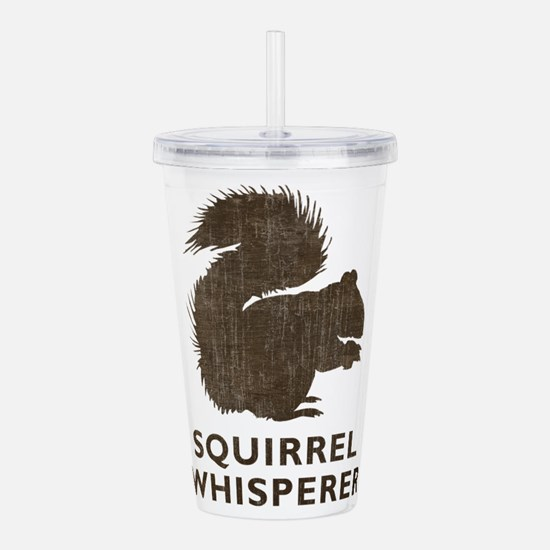 Vintage Squirrel Whisperer Acrylic Double-wall Tum