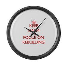 Cute Fix up Large Wall Clock