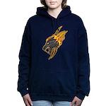 Wolf Women's Hooded Sweatshirt
