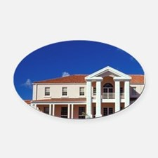 Grenada. St. Georges University Sc Oval Car Magnet
