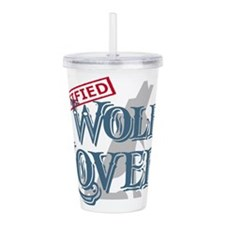 Wolf Lover Acrylic Double-wall Tumbler
