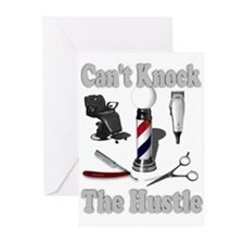 Cant Knock The Hustle-Grey Greeting Cards (Package