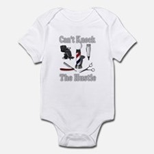 Cant Knock The Hustle-Grey Infant Bodysuit