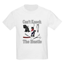 Cant Knock The Hustle-Grey T-Shirt