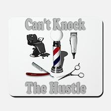 Cant Knock The Hustle-Grey Mousepad