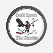 Cant Knock The Hustle-Grey Wall Clock