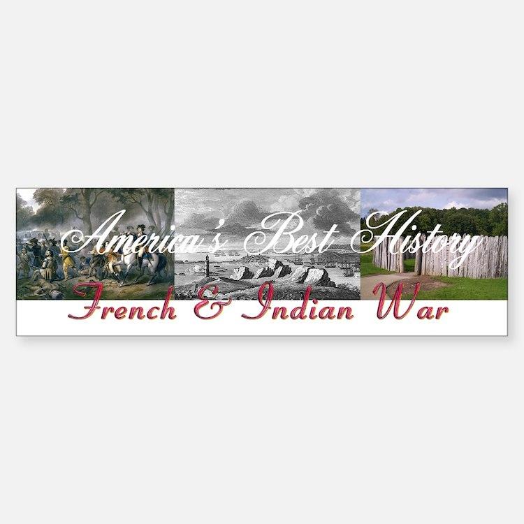 ABH French Indian War Bumper Bumper Sticker