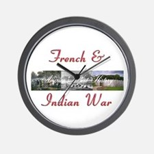 ABH French Indian War Wall Clock