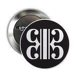 "Double Alto Clef 2.25"" Button (10 Pack)"