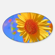 Wild Colors Sunflower Decal