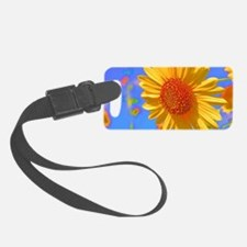 Wild Colors Sunflower Luggage Tag