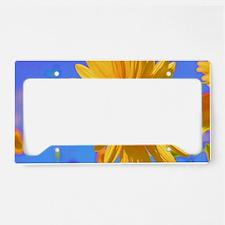 Wild Colors Sunflower License Plate Holder