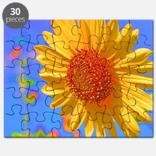 Wild Colors Sunflower Puzzle