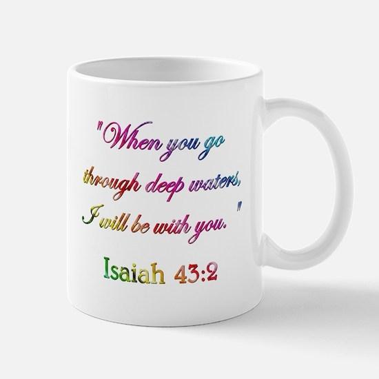 ISAIAH 43:2 Mug