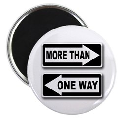 More Than One Way Magnet (100 pack)