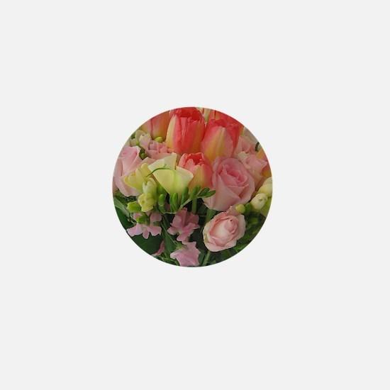 Bride's Bouquet Mini Button