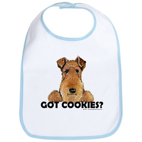 Irish Terrier Cookies Bib