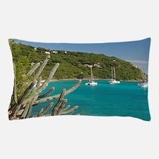 White Bay. Popular moorings for barebo Pillow Case