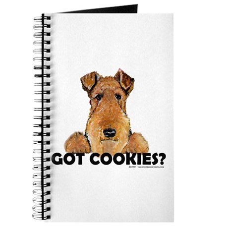 Irish Terrier Cookies Journal