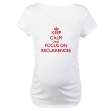 Keep Calm and focus on Recurrences Shirt