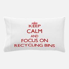 Unique I heart recycling Pillow Case